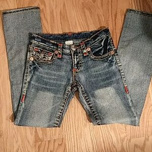 Women's True Religion Billy Big T jeans. Sz 27x28
